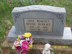 Anne Romines Devine Burrage