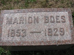 Francis Marion Boes