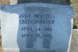 Annie <i>Brazzell</i> Cheeseborough