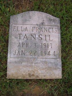 Ella Francis Tansil