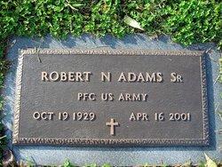 Robert N Adams, Sr