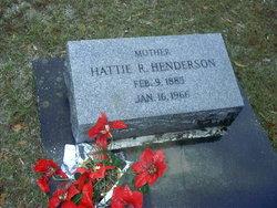 Annie Hattie <i>Reach</i> Henderson