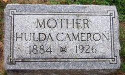 Hulda Ingaborg <i>Oberg</i> Cameron