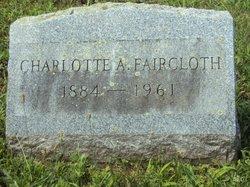 Charlotte Amelia <i>Swan</i> Faircloth