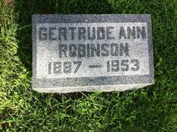 Gertrude Ann Robinson