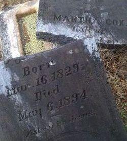Martha A <i>Cox</i> Acker
