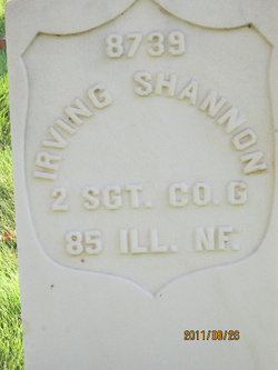 Sgt W Irving Shannon