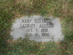 Mary Elizabeth <i>Lashley</i> Allison
