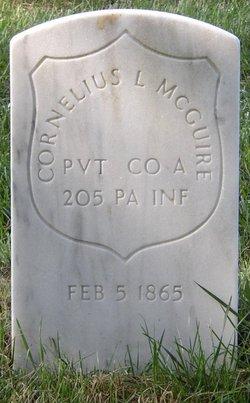 Pvt Cornelius L. McGuire
