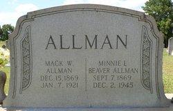 Minnie Lou <i>Beaver</i> Allman