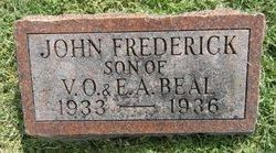 John Frederick Baby Freddie Beal