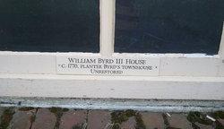 Col William Evelyn Byrd, III