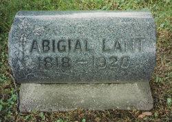 Abigail <i>Nicholas</i> Lant