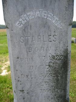 Elizabeth <i>Holman</i> Staples