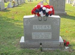 Margaret Gedie Maggie <i>Leake</i> Lucas