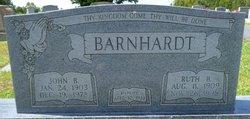 Ruth Elizabeth <i>Barrier</i> Barnhardt