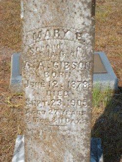 Mary Etta <i>Gandy</i> Gibson
