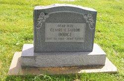 Claire Evelyn Clara <i>Taylor</i> Dodge