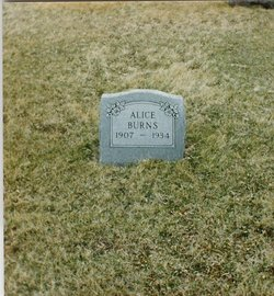 Alice <i>Davis</i> Burns