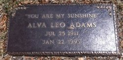 Alva Leo Adams