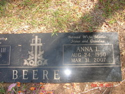 Anna Louise <i>Faulkner</i> Beere