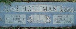 Beulah T Holliman