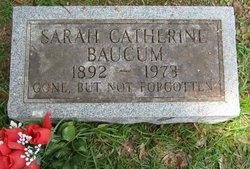Sarah Catherine <i>Beech</i> Baucum