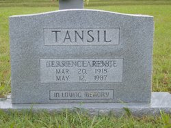 Jessie Clarence Tansil