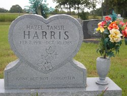 Hazel <i>Tansil</i> Harris