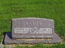 Astrid T. <i>Peterson</i> Ander