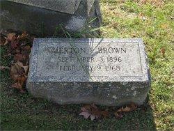 Merton Edwin Brown, Sr