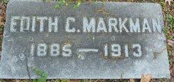 Edith <i>Carmichael</i> Markman