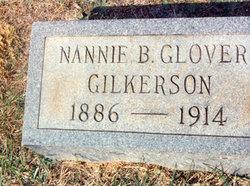 Nannie B. <i>Glover</i> Gilkerson