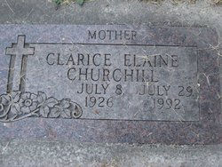 Clarice Elaine Churchill