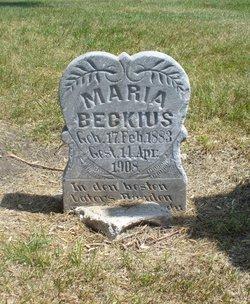 Maria Beckius