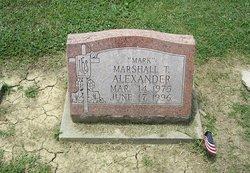 Marshall T Mark Alexander