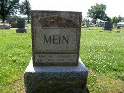 Johanna W Hannah <i>Meints</i> Mein