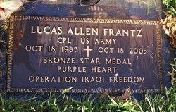 Spec Lucas Allen Frantz