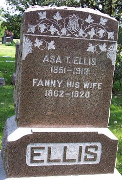 Fanny Elizabeth <i>Kelley</i> Ellis