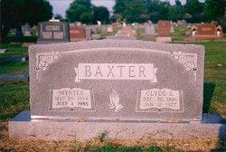 Myrtle <i>Rader</i> Baxter