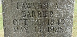 Lawson Alexander Barrier