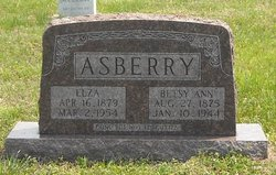 Betsy Ann Bettie <i>Crouch</i> Asberry