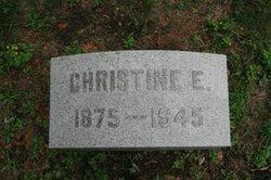 Meta Christina Christine <i>Erichsen</i> Ackerman