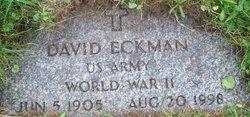 David Morris Davie Eckman