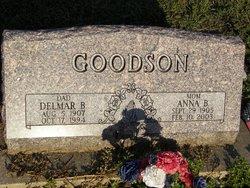 Delmar B Goodson
