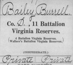 Burrell B Bailey