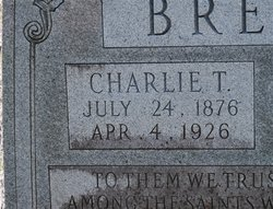 Charlie Tildon Brewer