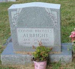 Connie <i>Broyles</i> Albright