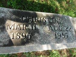 Christina Anna <i>Schulte</i> Bax