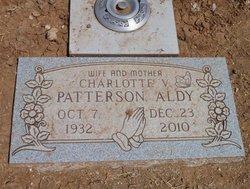 Charlotte Vinita <i>Patterson</i> Aldy